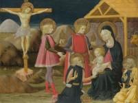 adoration mages benedetto bonfigli retournée