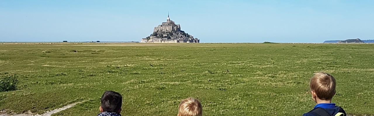 Photos du pèlerinage paroissial de rentrée  au Mont Saint-Michel