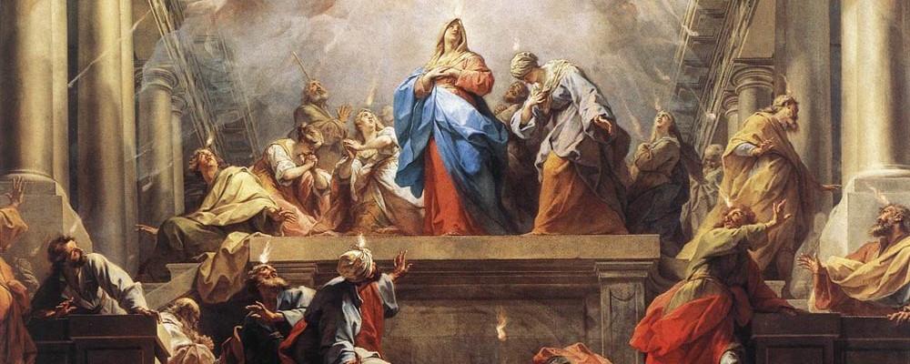 Neuvaine au Saint-Esprit (Ascension – Pentecôte)